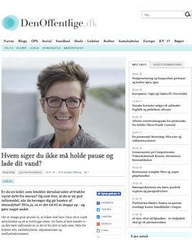 Glifberg Din offentlige artikel