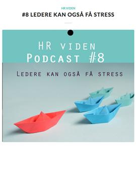 Ledere kan også få stress